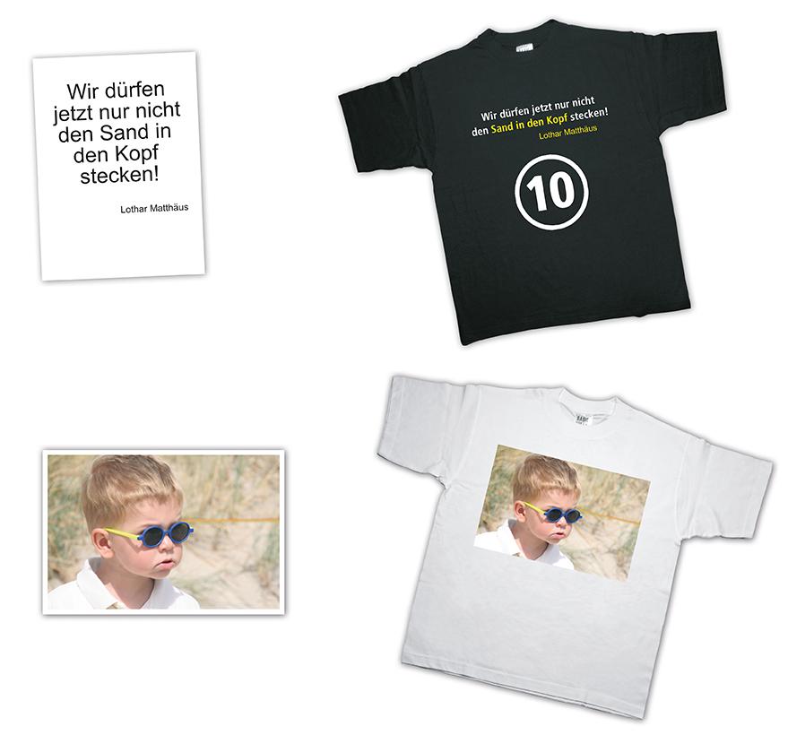 Kopie und Druck Lübbecke T-Shirt